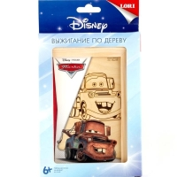 Выжигание Disney в рамке. Веселый Мэтр